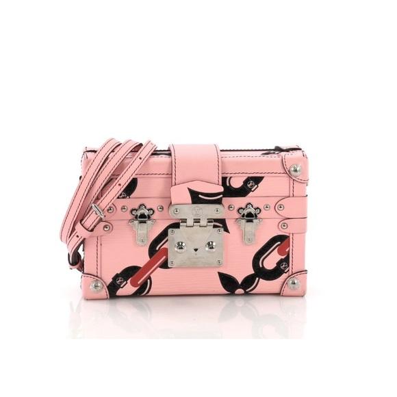 8be80a6a8831 Petite Malle Handbag Limited Edition. NWT. Louis Vuitton